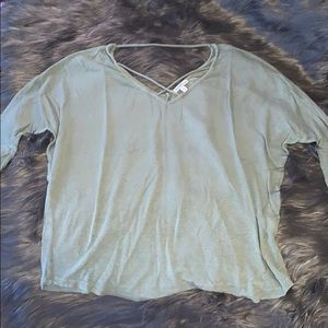 Charlotte Russe Size S Green Top